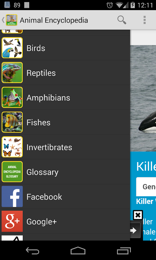 Animal Encyclopedia- screenshot