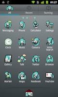 Screenshot of GO Launcher EX Theme -Miku-