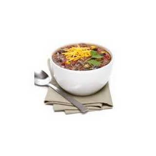 Fiesta Beef Soup.