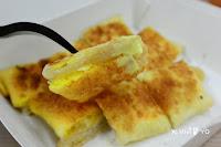 橘象。泰早安香蕉煎餅泰式奶茶