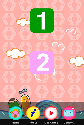 Numbers Songs for kids - screenshot