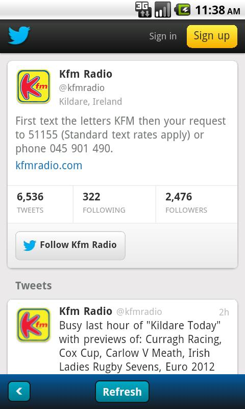 Kfm - screenshot