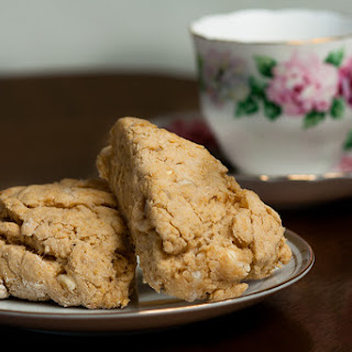 Joy's White Chocolate Scones