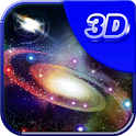 3D galaxy live wallpaper icon