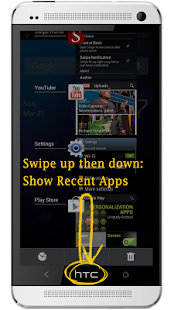 Swipe Home Button Screenshot 3