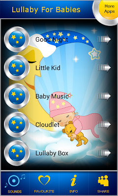 Lullaby For Babies - screenshot