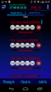 Powerball lottery - screenshot thumbnail