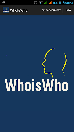 Who Is Who App