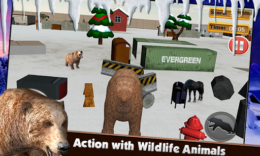 無料模拟Appの怒っているクマの攻撃3D|記事Game