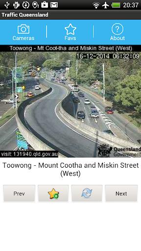 Traffic Cam Brisbane FREE