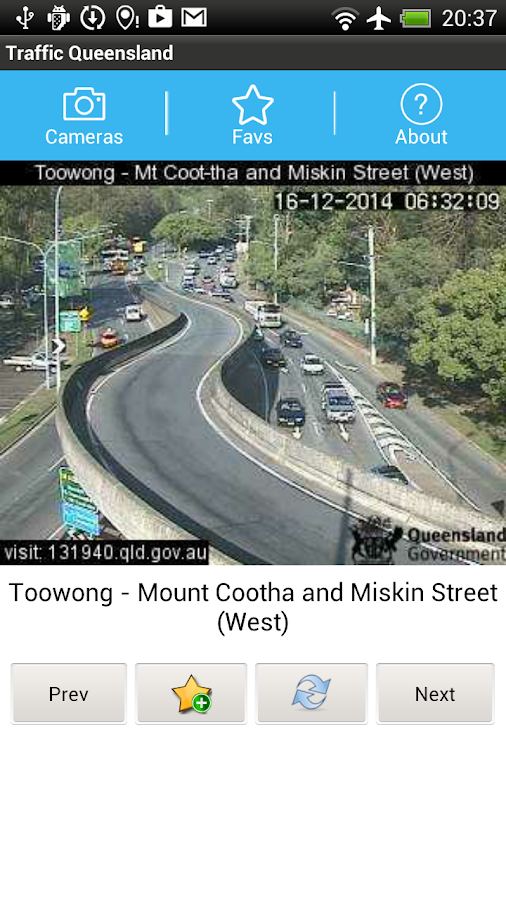 Traffic Cam Brisbane FREE - screenshot
