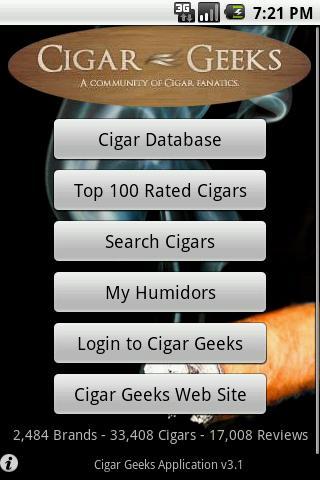 Cigar Geeks- screenshot