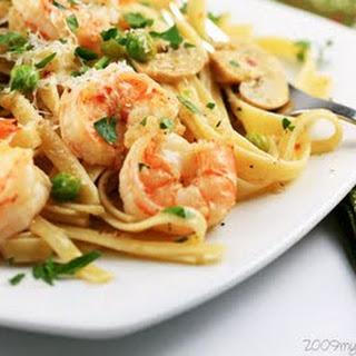 Shrimp Pasta.