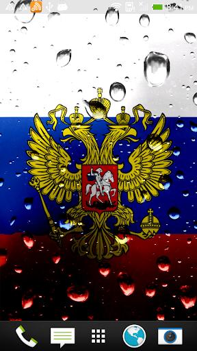 Russia flag live wallpaper