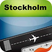 Stockholm Airport+Flight Track