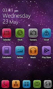 LIX GO LauncherEX Theme - screenshot thumbnail