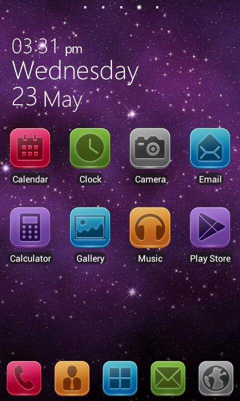 LIX GO LauncherEX Theme - screenshot