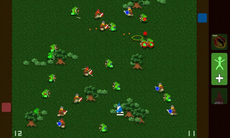 Wizard Battle 2- screenshot