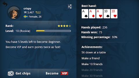 Appeak – The Free Poker Game Screenshot 10