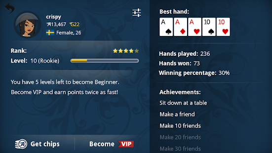 Appeak Poker - Texas Holdem- screenshot thumbnail