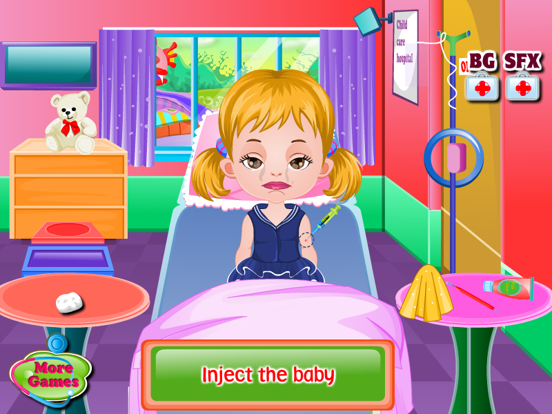 School Baby Doctor- screenshot