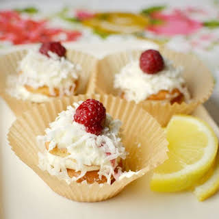 Lemon Cream & Coconut Icebox Cupcakes.