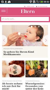 ELTERN online - screenshot thumbnail
