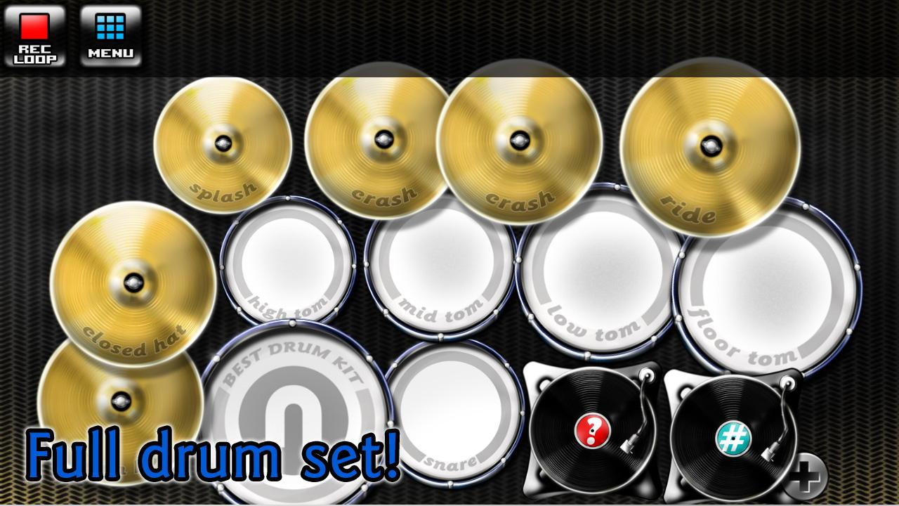 best drum kit music percussion android apps on google play. Black Bedroom Furniture Sets. Home Design Ideas