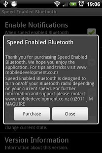 Speed Enabled Bluetooth - screenshot thumbnail