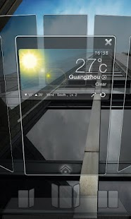 Next Launcher 3D Theme Dark - screenshot thumbnail