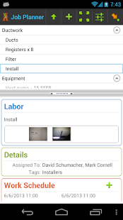 4W Job Management: Contractor - screenshot thumbnail