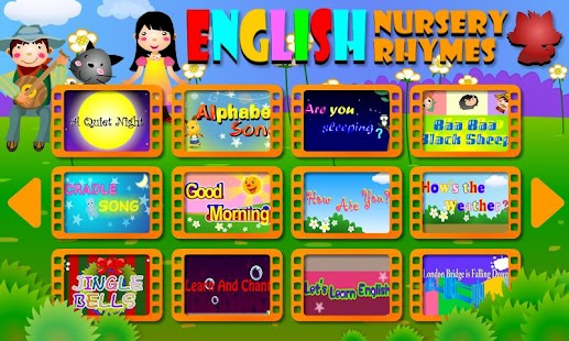 English Nursery Rhymes- screenshot thumbnail