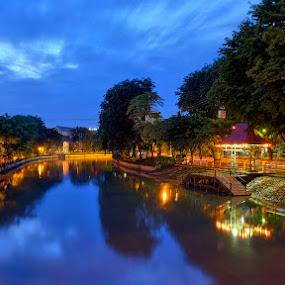 Ketabangkali Quay by Robertho Ponomban - City,  Street & Park  Vistas