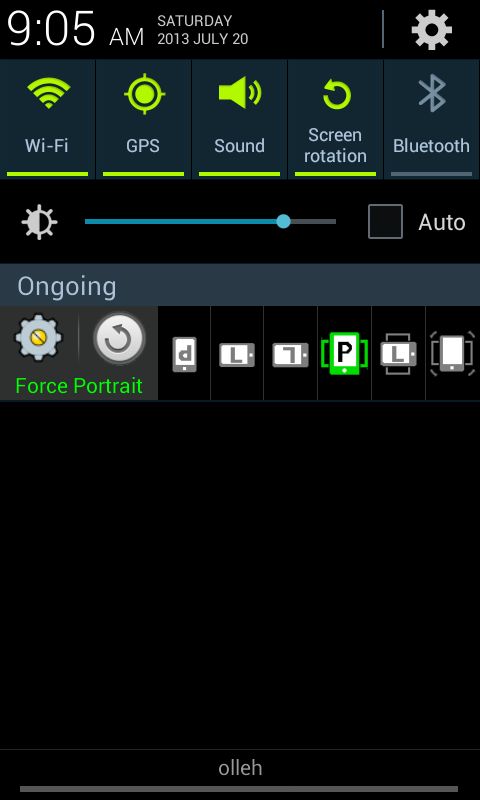 Rotation Control Pro- screenshot