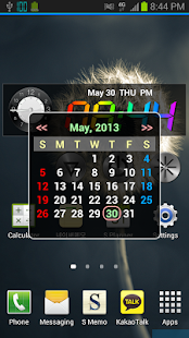 Rainbow Clock Widget (MIX)- screenshot thumbnail