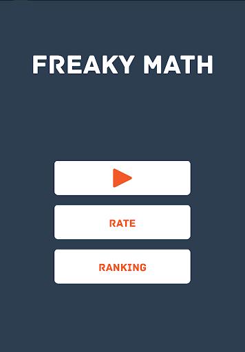 Freaky Math freaking mad =