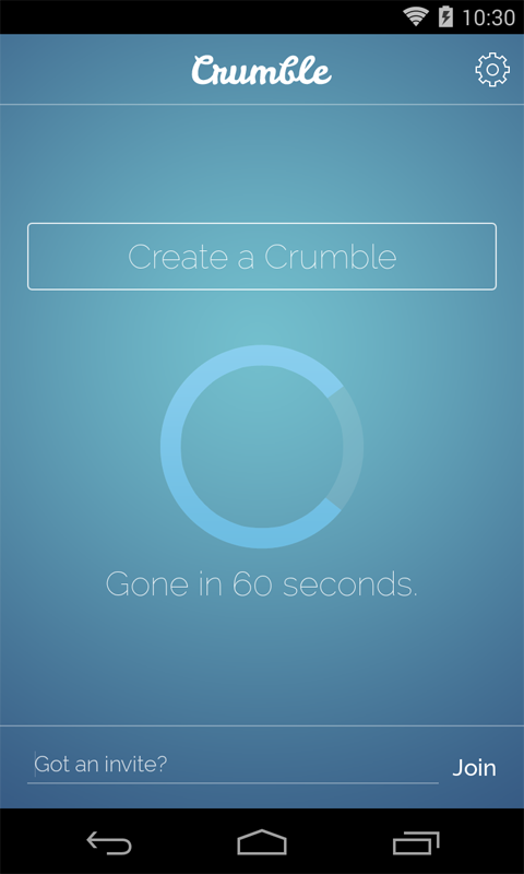 Crumble Messenger - screenshot