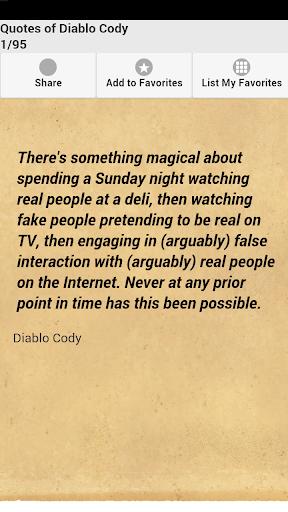 Quotes of Diablo Cody