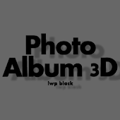 Photo Album 3D LWP Black