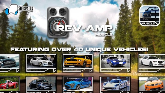 Rev-Amp: Muscle Car Sounds - screenshot thumbnail