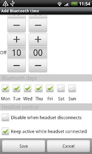 Bluetooth Auto On - screenshot thumbnail
