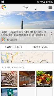 Taipei City Guide