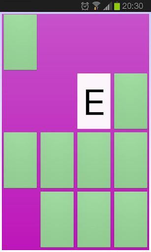 Alfamem - lära bokstäver A-Ö