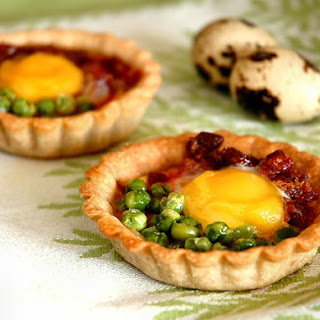 Mini-egg Buckwheat Tarts