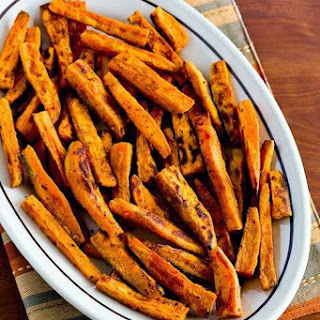 Spicy Sweet Potato Fries.