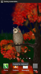 Owl of a Season Live Wallpaper- screenshot thumbnail