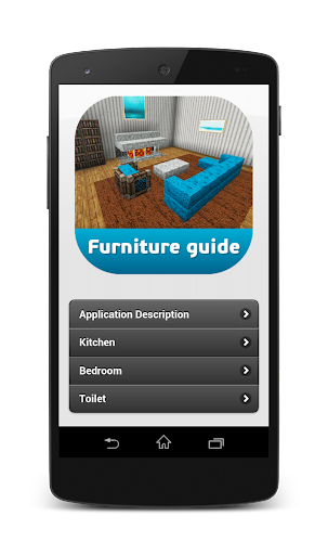 Furniture guide for PE