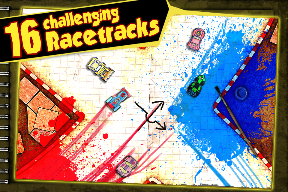 Paper Racer- screenshot