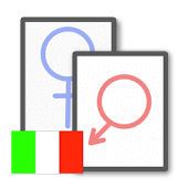 Gender Flashcards Pro(Italian)