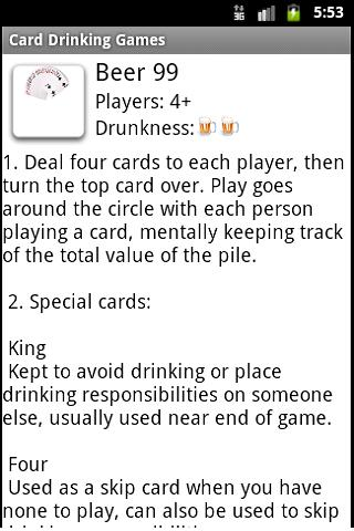 drinking card games for 4 people